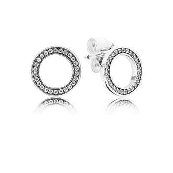 Pandora Forever PANDORA Stud Earrings 290585CZ