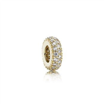 Pandora Inspiration Within Spacer, 14K Gold & CZ 750835CZ