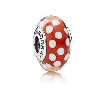 Pandora Disney, Minnie's Signature Look Charm, Murano Glass 791635