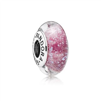 Pandora Disney Anna's Signature Color Charm, Murano Glass 791645