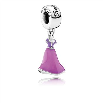 Pandora Disney, Rapunzel's Dress Dangle Charm, Mixed Enamel 791819ENMX