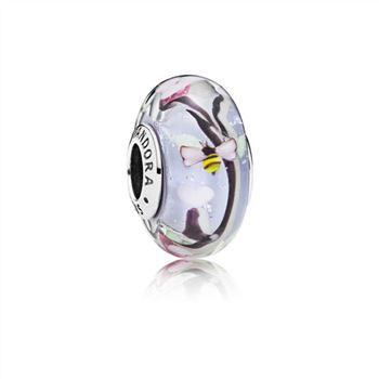 Pandora Enchanted Garden Glass Murano Charm 797014