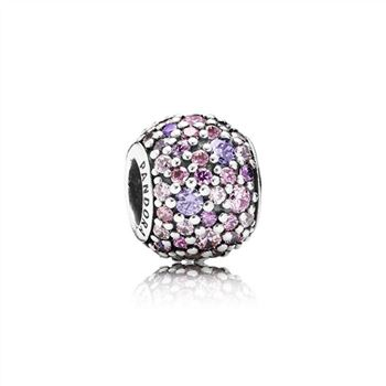 Pandora Pave Lights Charm, Multi-Colored CZ 791261ACZMX