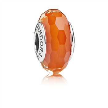 Pandora Fascinating Orange, Murano Glass 791626
