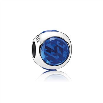 Pandora Radiant Droplet Charm, Royal Blue Crystals 792095NCB