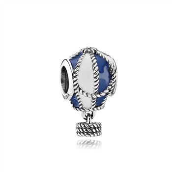 Pandora Hot Air Balloon Silver Charm - PANDORA 791145ENMX