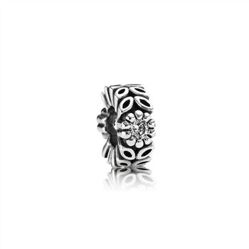 Pandora Twice As Nice Spacer, Clear CZ 791224CZ