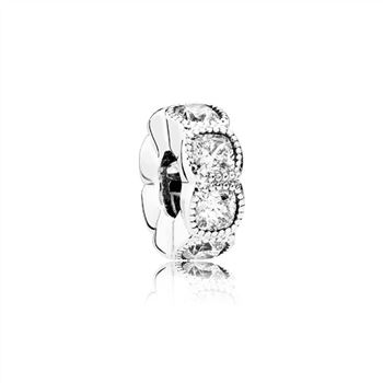 Pandora Alluring Cushion, Clear CZ 792027CZ