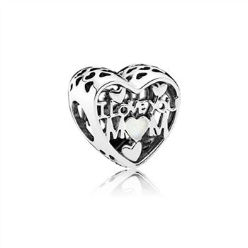 Pandora Love for Mother Openwork Charm 792067EN23