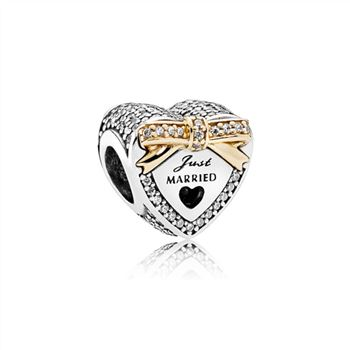 Pandora Wedding Heart Charm 792083CZ